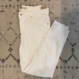 "NWT Madewell High-Rise Skinny Crop Jeans (31 in"")"
